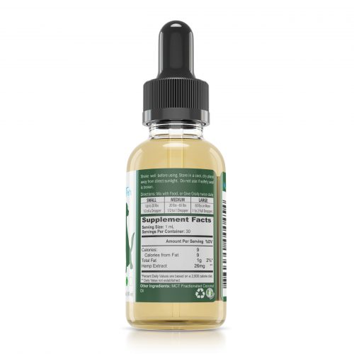 WAAYB Organics Pets 600mg_Right