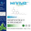 WAAYB Organics 300mg Mint CBD Oil