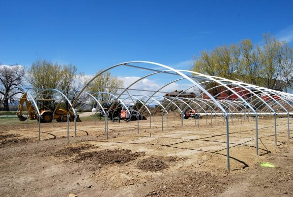 WAAYB Farms Hoop House Construction