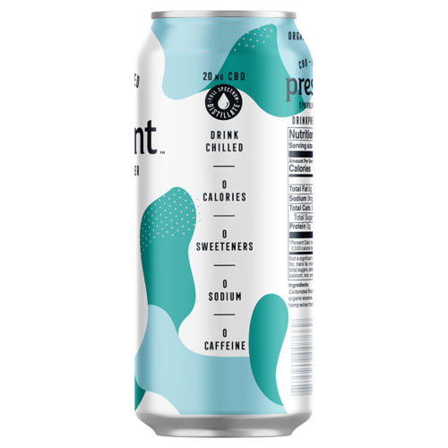 The best USDA Certified Organic CBD infused into a sparkling water