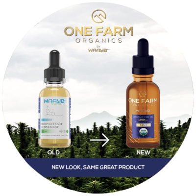 One Farm Organic CBD Products