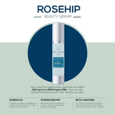 Rosehip Beauty Serum with CBD