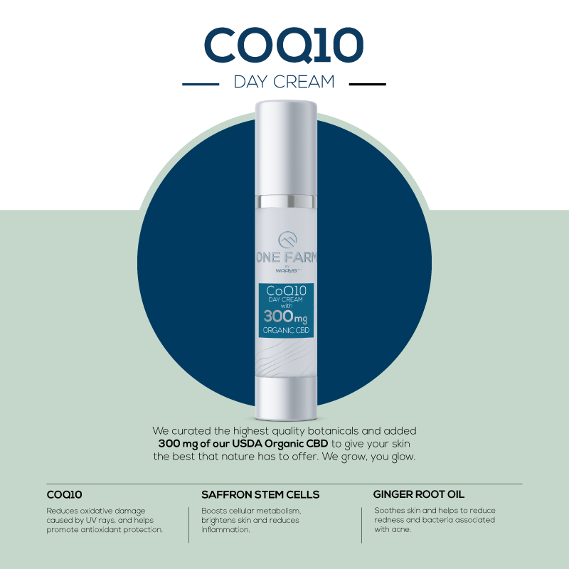 CoQ10 Day Cream with CBD