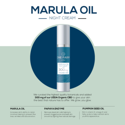 Marula CBD Night Cream